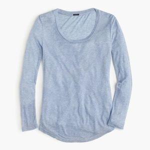 J.Crew 10 Percent Long-Sleeve T-Shirt